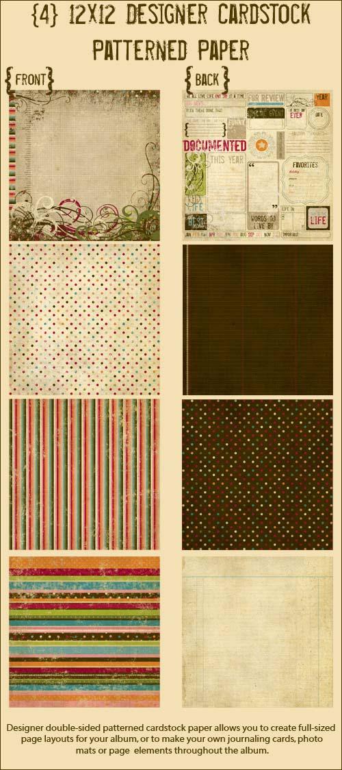 12x12 Patterned Paper copy