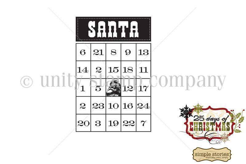 Santa bingo WATERMARK