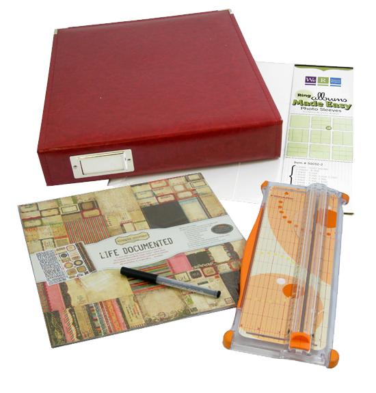 Kit album PP pen and trimmer