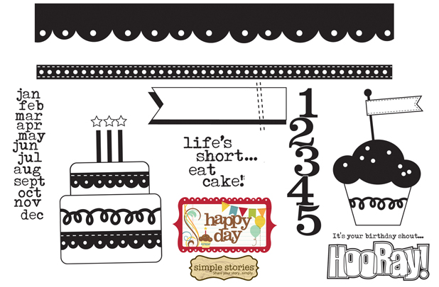 SS-874A LIFE'S SHORT EAT CAKE