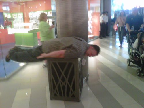 Kevin planking