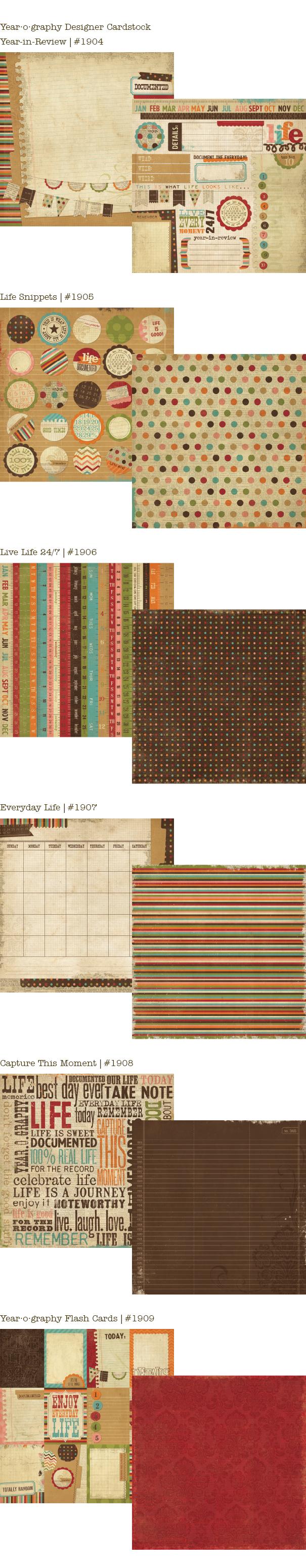 Year_Designer Cardstock