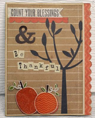 Count your blessings card copy