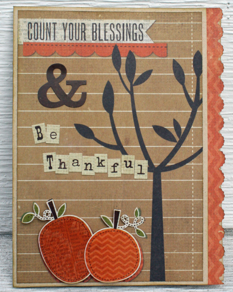 Count your blessings card