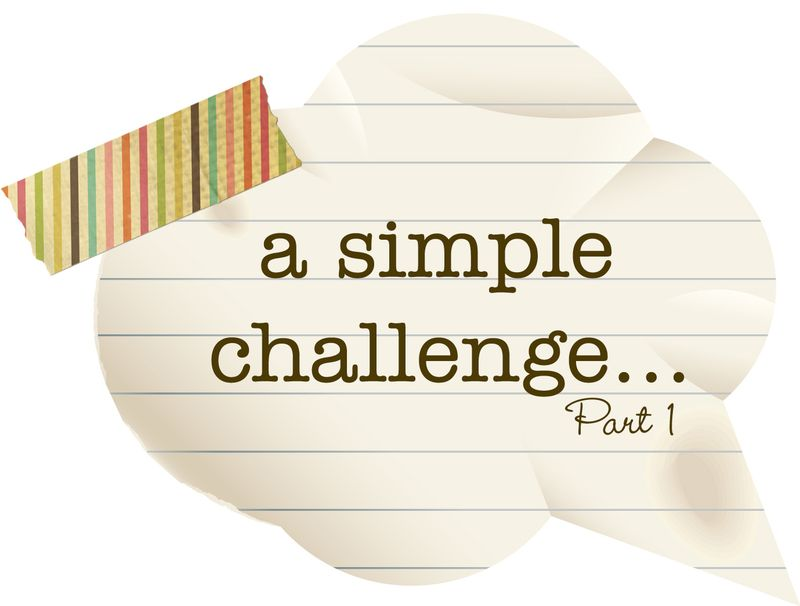 A Simple Challenge p1