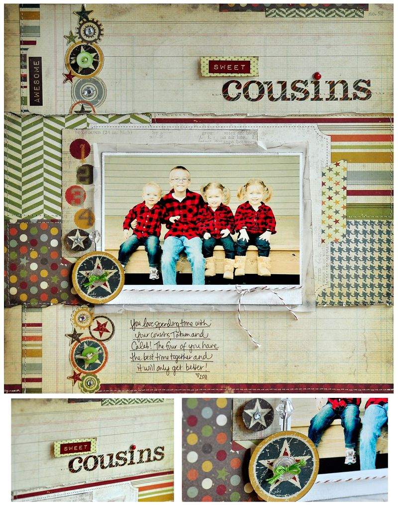 Sweet Cousins Collage