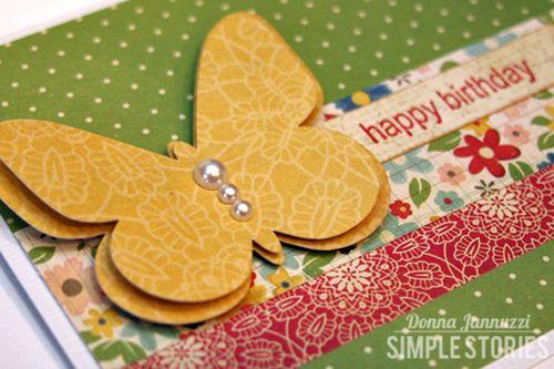 Happy Birthday II close-up Simple Stories