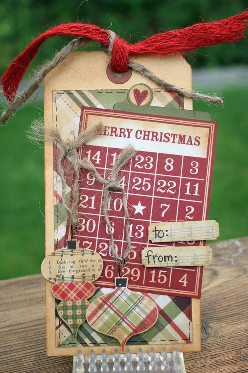 Christmas tag #5