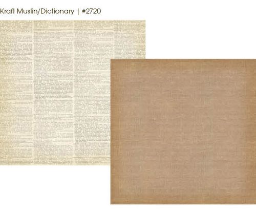 Kraft Muslin Dictionary 2720