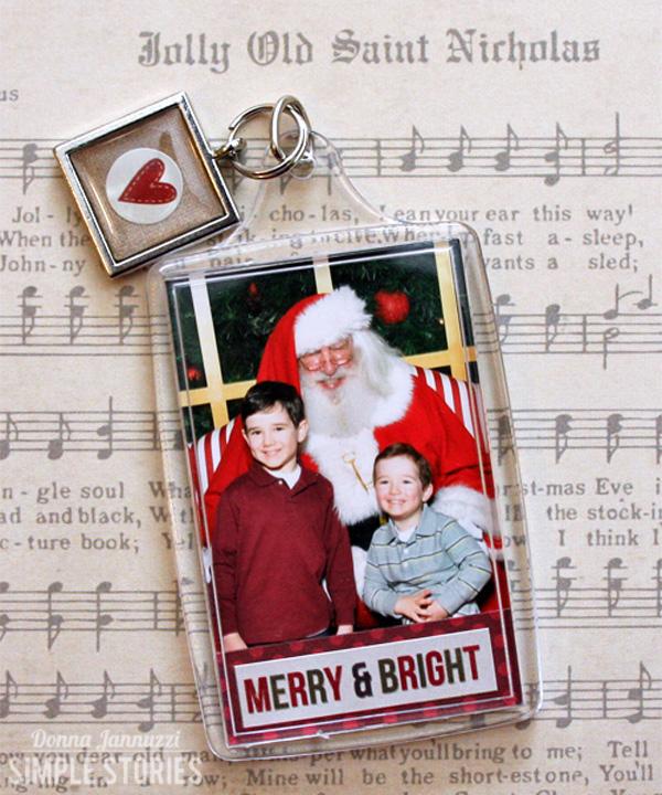 Santa Photo Ornament_Donna Jannuzzi