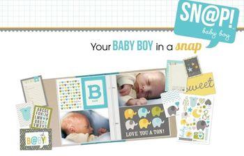 Snap baby boy spread