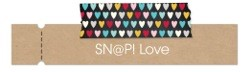 Snap love label