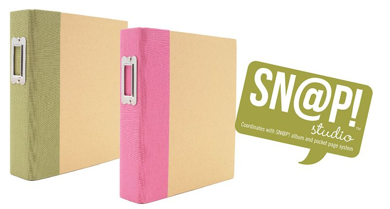 GreenPink Binder