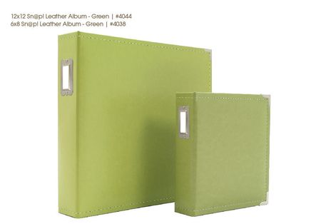 Snap albums image green