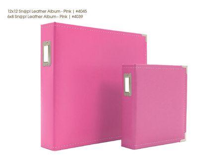 Snap albums image pink