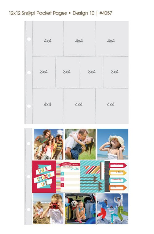 Design 10 Pocket Page