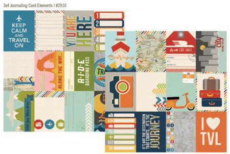 Urban traveler 3x4 cards