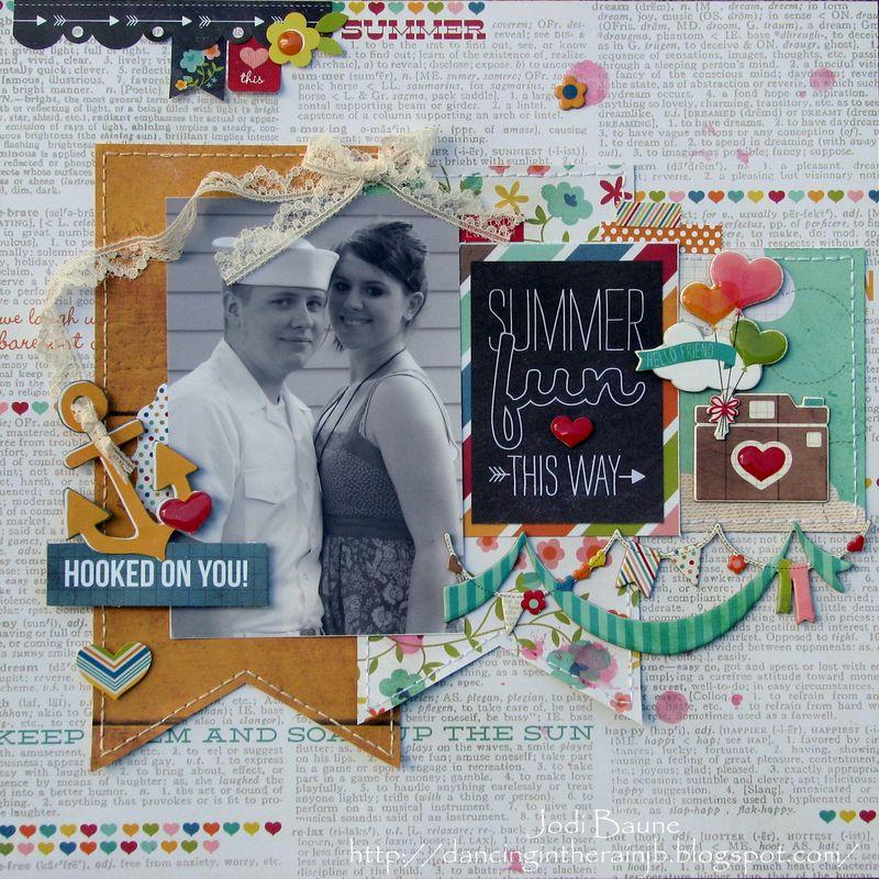Jodi Baune - I Heart Summer #1