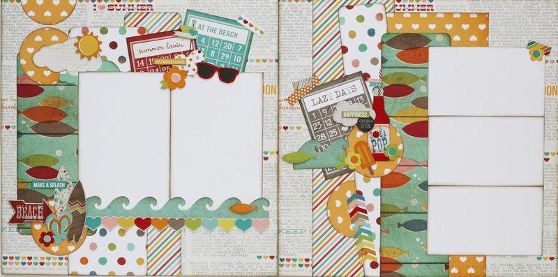 Summer Lovin 2 page layout (Medium)
