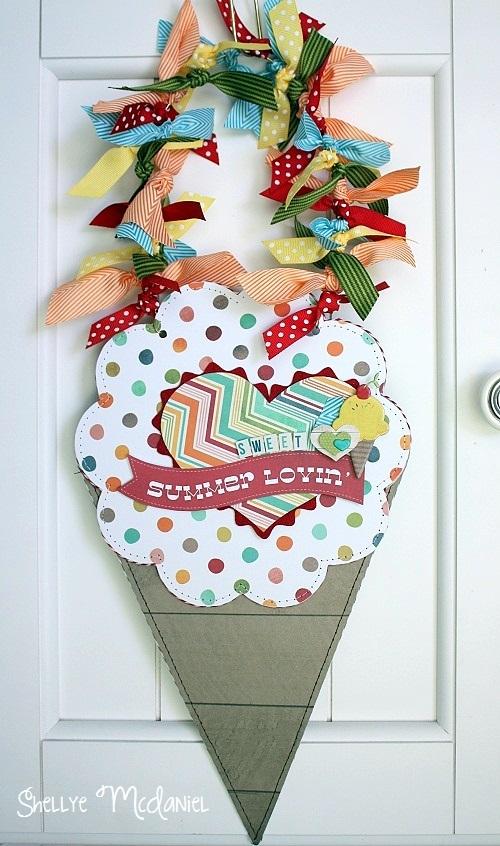 Shellye McDaniel-Summer Lovin' Cone Hanger1