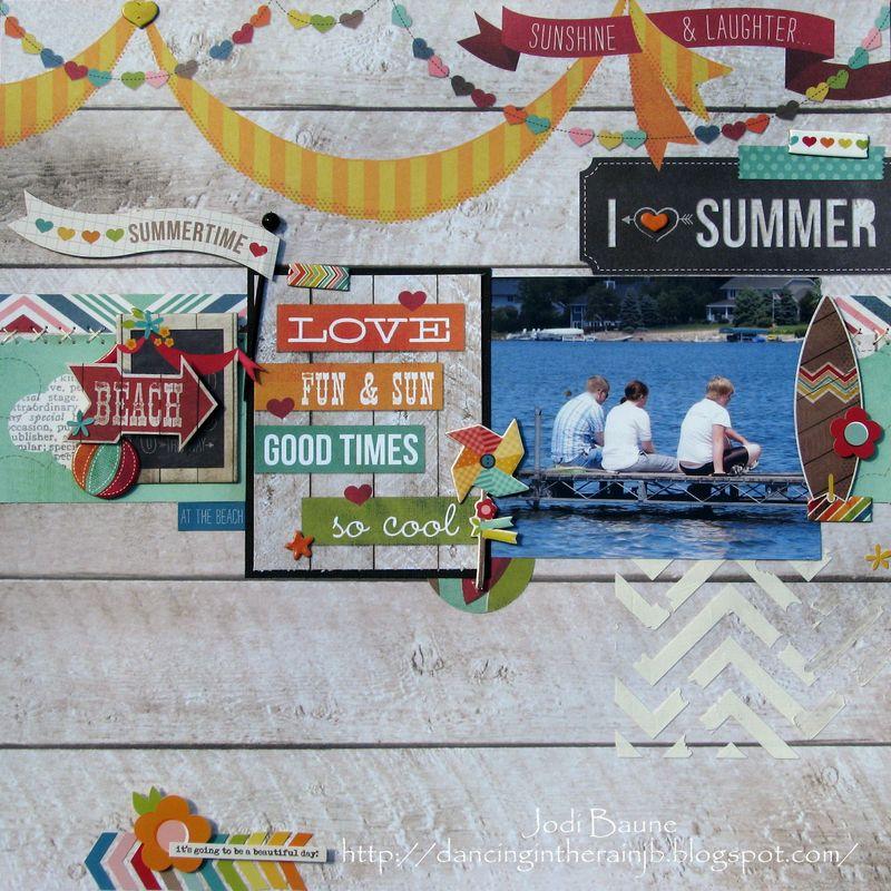 Jodi Baune - I Heart Summer #2