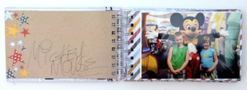 Vicki boutin - say cheese autograph book inside