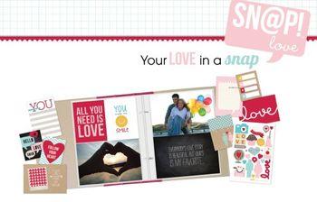 SNAP love spread