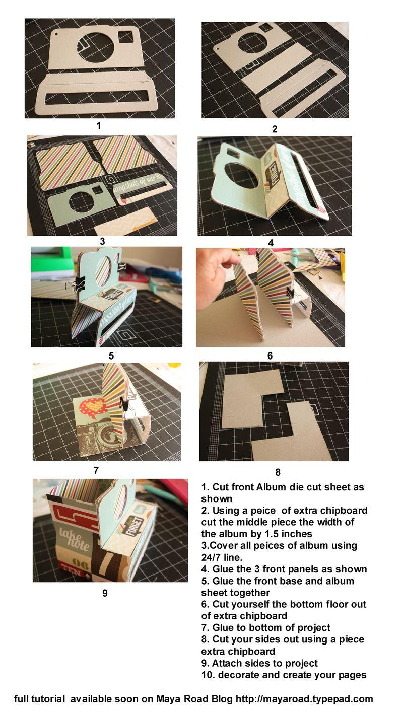 Camera box instructions