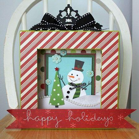 Shellye McDaniel-Christmas Shadowbox1