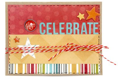 Celebrate card by sue - sm