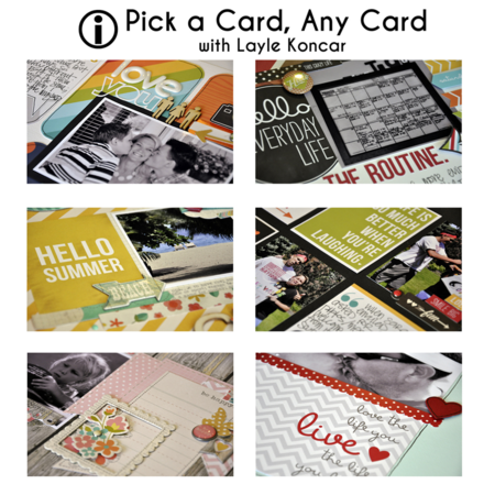 Pick a card - no ts logo