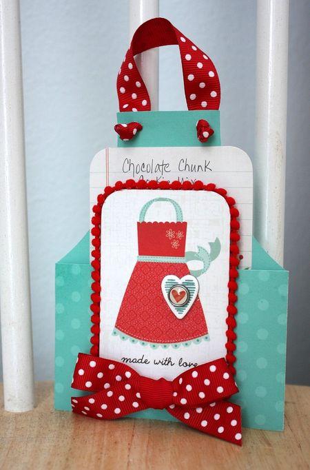 Shellye McDaniel-Made With Love Apron Card
