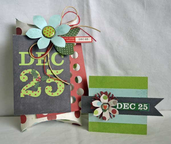 Pillow box and card1
