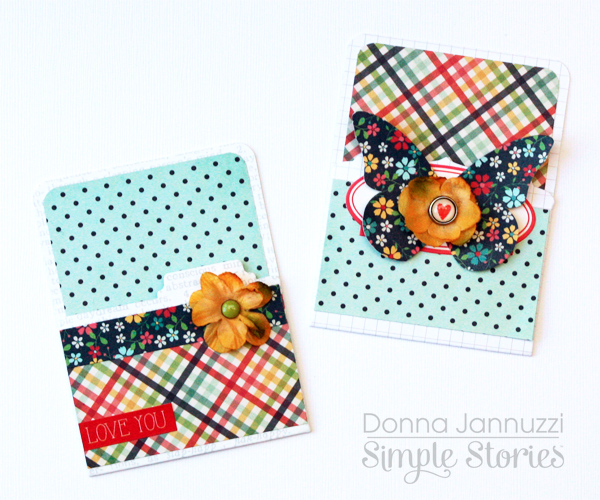 Homespun Gift Cards by Donna Jannuzzi