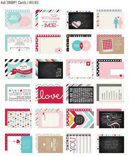 4x6 cards