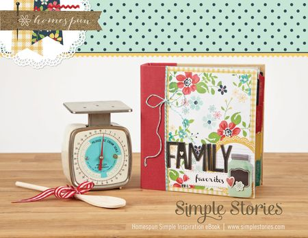Homespun Simple Inspiration eBook cover