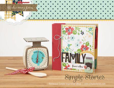 Homespun Simple Inspiration eBook cover