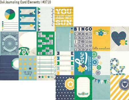 ACL 3x4 journaling card elements