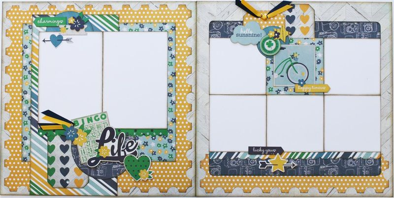 A Charmed Life 2 page layout (Medium)