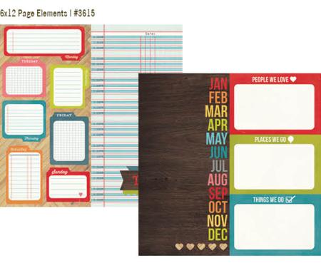 DG 6x12 Elements Paper