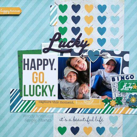 Happy Go Lucky Feb 2014
