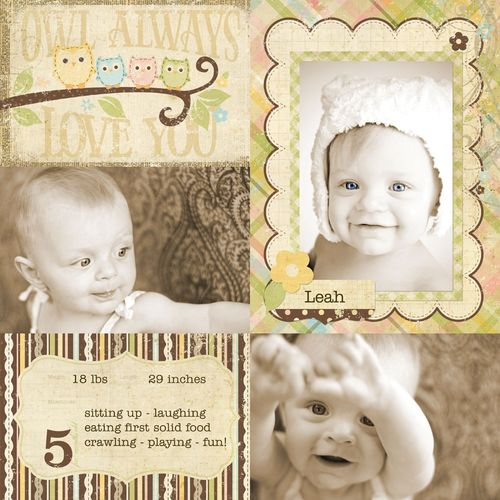 Baby Steps_6x8 Sample - 800