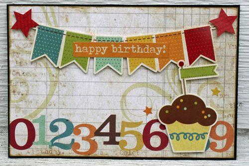 Happy Birthday Card Banner